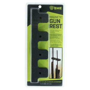 GSM Outdoor/SME Weapon Rack 4 Gun Barrel Slot Magnetic Backing Foam Gray Finish