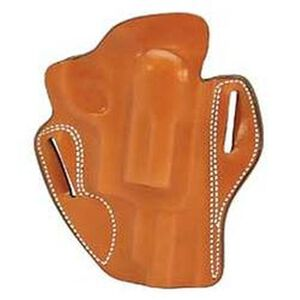 """DeSantis Speed Scabbard Belt Holster Taurus Judge 3"""" Cylinder 2.5"""" and 3"""" Right Hand Leather Tan 002TAP5Z0"""