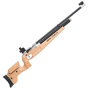 Walther LG400 Universal PCP Single Shot Air Rifle .177 Pellet Adjustable Wood Stock