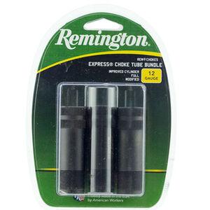 Remington Extended Choke Tube Set 12 Gauge Rem Choke IC/Mod/Full Black Finnish