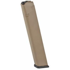 ProMag GLOCK 17/19/26 32 Round Magazine 9mm Luger Polymer Flat Dark Earth