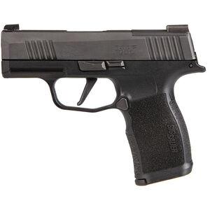 "SIG Sauer P365X 9mm Luger Semi Auto Pistol 3.1"" Barrel 10 Rounds Night Sites Polymer Grip Frame Black Finish"