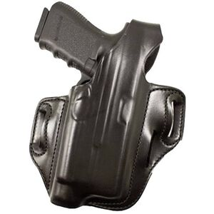 DeSantis Tac-Lite Belt Holster For GLOCK 17/22/37/31 with TLR-1/X300 Flashlight Right Hand Leather Black 117BAW8Z0