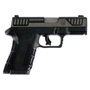 """Diamondback AM2 Semi Auto Pistol 9mm Luger 3.5"""" Barrel 17 Rounds  Two Tone Stainless Slide Polymer Frame"""