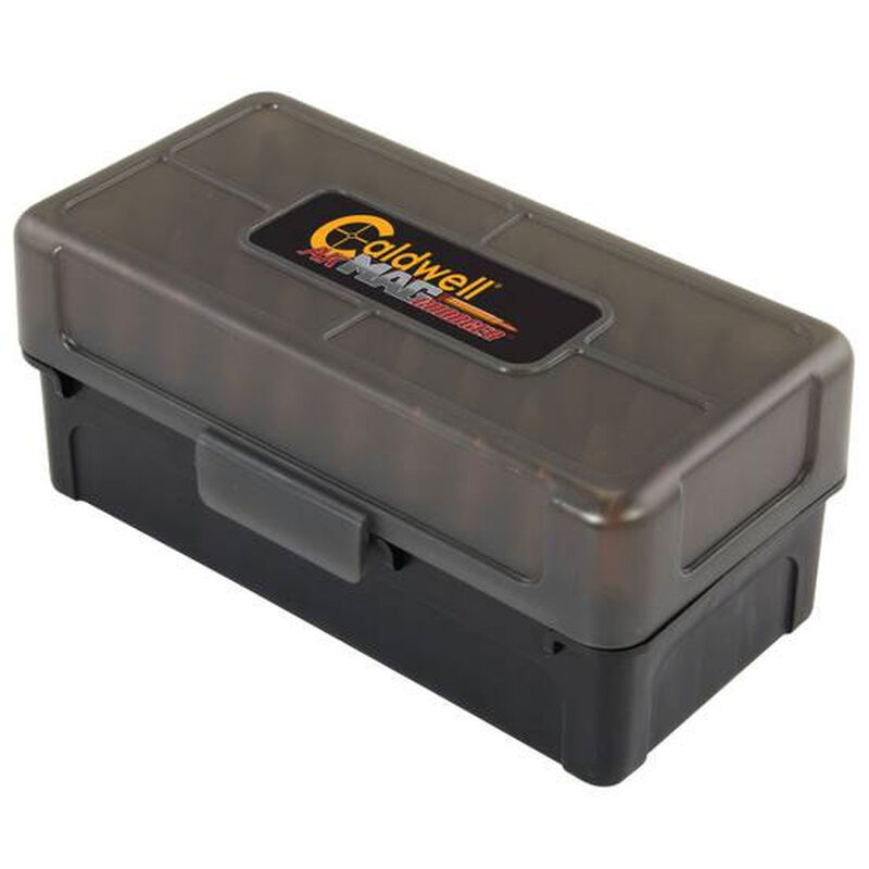 Caldwell Shooting Supplies, AK-47 Magazine Charger Ammo Box, 7.62x39, 50 Rounds, Pack Of 5