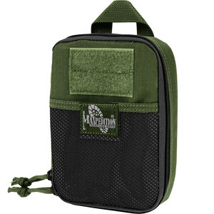 """Maxpedition Fatty Pocket Organizer 5""""x1.75""""x7"""" MOLLE and PALS Large OD Green 0261G"""
