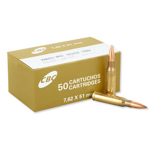 Magtech .308 Win HPBT Sniper 168 Grain Ammunition, 50 Rounds