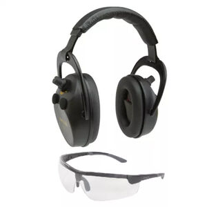 Allen Axion Ballistic Electronic Earmuff & Safety Glasses Combo Kit Black