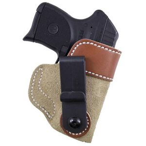 Desantis 106 Sof-Tuck Inside the Pant Holster for Ruger LCP with Crimson Trace Laser Right Hand Leather Tan Finish 106NAT7Z0
