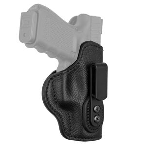 1791 Gunleather Ultra Custom Size 0 Multi-Fit IWB Concealment Holster for Pocket Semi Auto Pistols Right Hand Draw Leather Night Sky Black