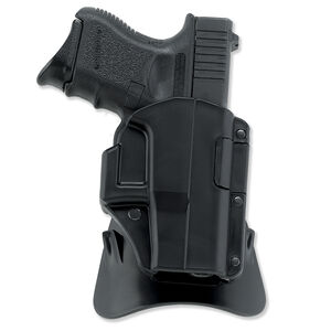 Galco M4X Matrix AutoLock Paddle Holster for GLOCK 17, Right Hand Black