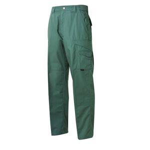 """Tru-Spec 24-7 Series Men's Tactical Pants 65/35 Polyester/Cotton 34"""" Waist Unhemmed Inseam OD Green 1064085"""
