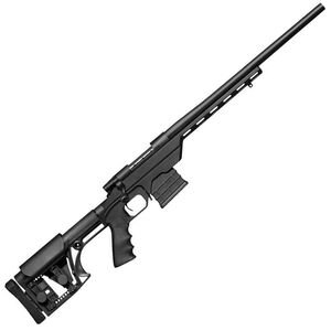 """Weatherby Vanguard Modular Chassis Bolt Action Rifle .223 Remington 20"""" Barrel 10 Rounds LUTH-AR MBA-1 Stock Matte Black"""