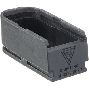 Ghost Plus 2 Rounds Magazine Extension Device for GLOCK 43X/48 9mm