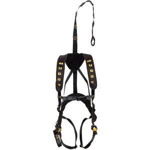 Muddy Magnum Elite Safety Hunting Harness OSFA Light Weight Padded Nylon Black