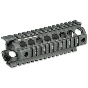 "Midwest Industries AR-15 G2 Two Piece Drop-In Handguard Carbine 7"" Aluminum Black MCTAR-17G2"