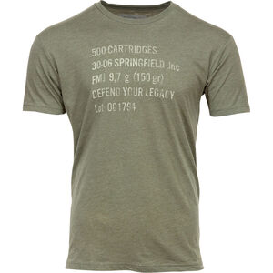 Springfield Armory Ammo Can Men's T-Shirt Cotton OD Green