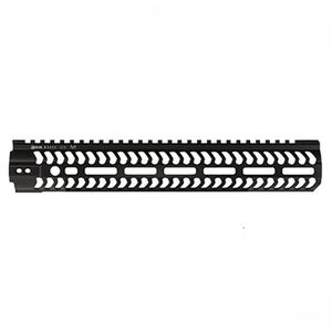 "ODIN Works AR-15 12.5"" M-LOK Free Float Forend Black"