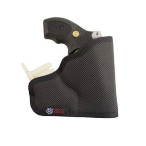 DeSantis Ammo Nemesis Pocket Holster S&W J-Frame Revolvers Ambidextrous Nylon Black M33BJN3Z0