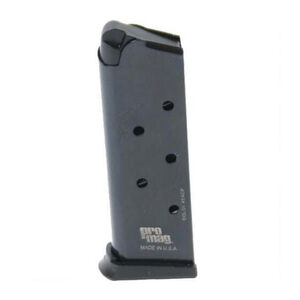 ProMag Compact 1911 Magazine .45 ACP 6 Rounds Steel Blued COL 01