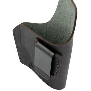 Versacarry Element Holster Compact and Sub Compact Handguns Size 3 IWB Right Hand Leather Distressed Brown
