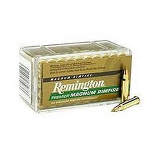Remington Premier .17 HMR 17 Grain AccuTip-V 50 Round Box