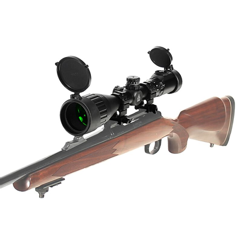 "Leapers UTG 3-9x50 Hunter Scope Mil-Dot 1"" Matte Black SCP-U395AOIEW"