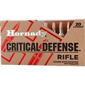 Hornady .223 Remington Ammunition 20 Rounds FTX 73 Grains