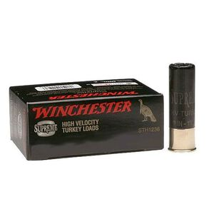 "Winchester Double X Turkey Load 10 Gauge Ammunition 10 Rounds 3.5"" #5 Plated Shot 2 Ounces STH105"