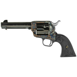 "Colt Single Action Army .45 Long Colt 4.75"" Barrel 6 Rounds Fixed Sights Case Hardened Frame Composite Grips Blued/Black Finish"