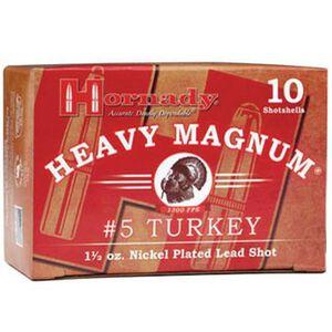"""Hornady 20 Gauge Ammunition 10 Shells 3"""" #5 Plated Shot 1.375 oz."""