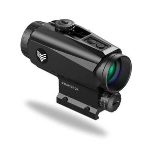 Swampfox Trihawk Prism Scope MOA Reticle Green Illuminaton Black