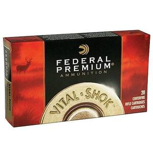 Federal .300 Winchester Magnum Ammunition 20 Rounds Bonded Bear Claw 200 Grains