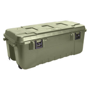 Large Sportsman Trunk with Wheels OD Green