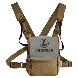 Leupold Pro Guide Binocular Harness Field Case Nylon Tan