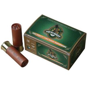 "Hevi-Shot Duck 12 Gauge Ammunition 10 Rounds 3.50"" #6 Leadless 1.375 Ounce 43506"