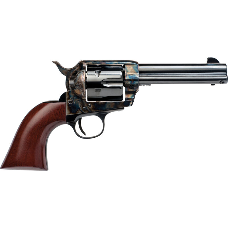 "Cimarron SA Frontier Pre War .45 LC Single Action Revolver 4.75"" Barrel 6 Rounds Walnut Grips Blued"