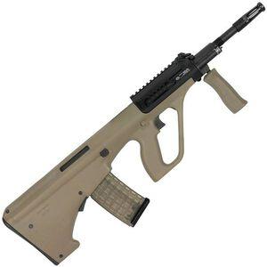 "Steyr AUG A3 M1 NATO Semi Auto Rifle .223 Rem/5.56 NATO 16"" Chrome Lined Barrel 30 Round Standard AR-15 Magazine with Short Rail Matte Mud Finish AUGM1MUDNATOS"