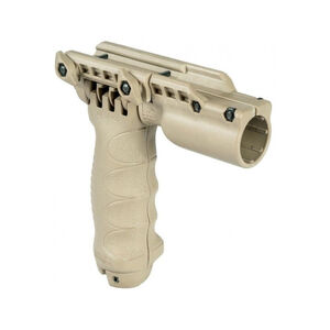 FAB Defense T-POD G2 FA 3 in 1 Tactical Foregrip Bipod and Flashlight Holder FDE