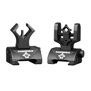 Diamondhead AR-15 Micro-D Flip-Up Sight Set Black