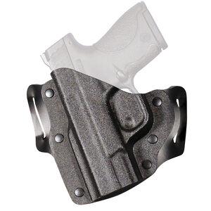 DeSantis Gunhide The Intimidator 2.0 SIG Sauer P365 OWB Holster Left Hand Leather and Kydex Black