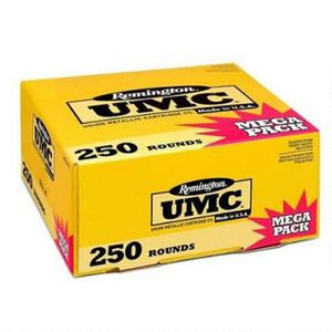 Remington UMC .40 S&W Ammunition 250 Rounds 180 Grain Full Metal Jacket 990fps Mega Value Pack