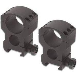 "Burris Xtreme Tactical Weaver/Picatinny Style Scope Rings 1"" Tube Diameter Extra High Height 1.50"" Aluminum Matte Black"
