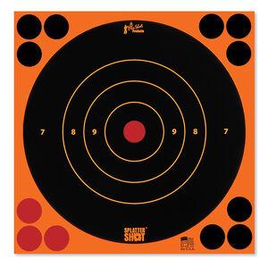 """Pro-Shot Splatter Shot 8"""" Bulls-eye Orange 30 Pack"""