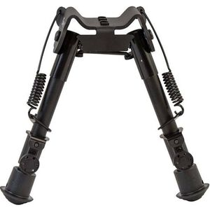 "Caldwell XLA Fixed Bipod 9"" to 13"" Height M-Lok or KeyMod Attachment Spring Loaded Legs Black"