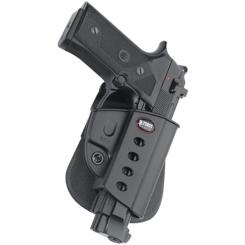Fobus Evolution Paddle Holster Beretta 92/Taurus PT92 Right Hand Polymer  Black BRV