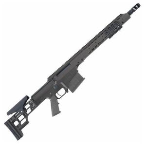 "Barrett Firearms Manufacturing MRAD Bolt Action Rifle .308 Winchester 17"" Heavy Barrel 10 Rounds Folding Stock Disruptive Gray CeraKote Finish 14368"