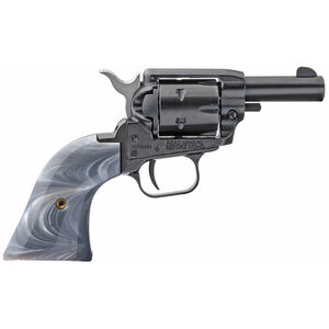 """Heritage Manufacturing Barkeep .22 Long Rifle Single Action Revolver 2.68"""" Barrel 6 Rounds Fixed Sights Gray Pearl Grips Alloy Frame Black Oxide Finish"""