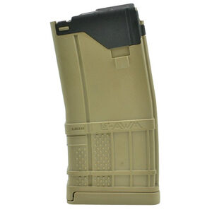 Lancer AR-15 L5 Advanced Warfighter Magazine .223 Rem/5.56 NATO 20 Rounds Polymer Opaque Flat Dark Earth
