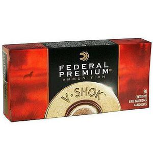 Ammo .30-06 Springfield Federal Vital-Shok Nosler Partition SP Bullet 165 Grain 2830 fps 20 Rounds P3006AD